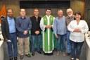 2017 - bênção do Padre Chrystian Shankar.