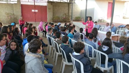 2017 - visita Escola Estadual Antônio Gonçalves de Matos