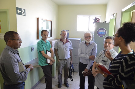 2017 - Vistoria em Posto de Saúde do bairro São José