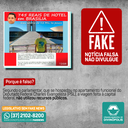 É FAKE! - Vereador gasta R$745 reais em hotel de Brasília