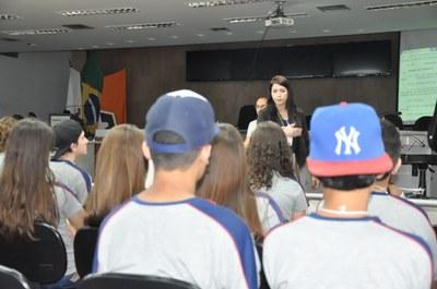 10° Aula da Oficina do Parlamento Jovem 20-04-2018