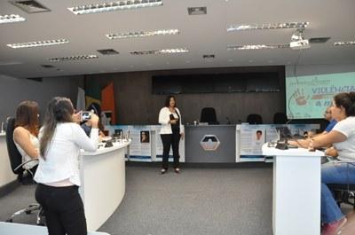 Plénanario -7° Aula da oficina do Parlamento Jovem 11-04-2018