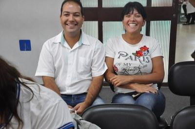 Carlinhos e Nara Paula -8° Oficina da Escola do Legislativo 16-04-2018 - Simpósio da Saúde