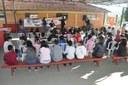 Atividade com a ambulância do SAMU: Escola Estadual Antônio Gonçalves de Matos 23/05/2018