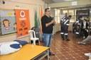 Dr. Roberto Franklin - Atividade com a ambulância do SAMU: Escola Estadual Martin Cipriyen 24/05/2018