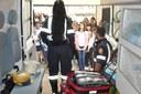 Atividade com a ambulância do SAMU: Escola Estadual Padre Matias Lobato 08/06/2018
