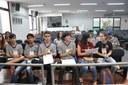 Plénario -Aula da Oficina do Parlamento Jovem 18-06-2018