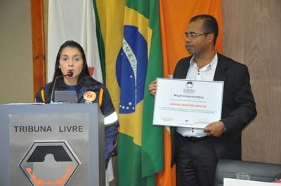 Larissa Martins Santos - Ver. Raimundo Nonato -Encerramento das Atividades da Semana do SAMU sem Trote 11-06-2018