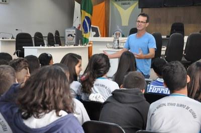 Plénario -Visitas das escolas Públicas