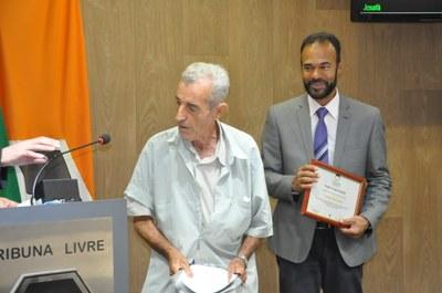 Ver. Marcos Vinicius e Amador Alves Neto  - Moção Congraturatória 22-02-2018