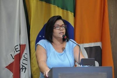 Ver. Janete Aparecida  - Reunião Ordinária 018, de 10 de abril de 2018