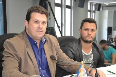 Ver. Eduardo Print Júnior , Ver. Cleitinho Azevedo - RO 007 de 27 de fevereiro de 2018