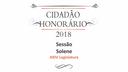 """Câmara entrega """"Cidadão Honorário"""" nesta sexta"""