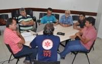 Comissão de Saúde se reúne com diretoria do SAMU para avaliar atendimentos
