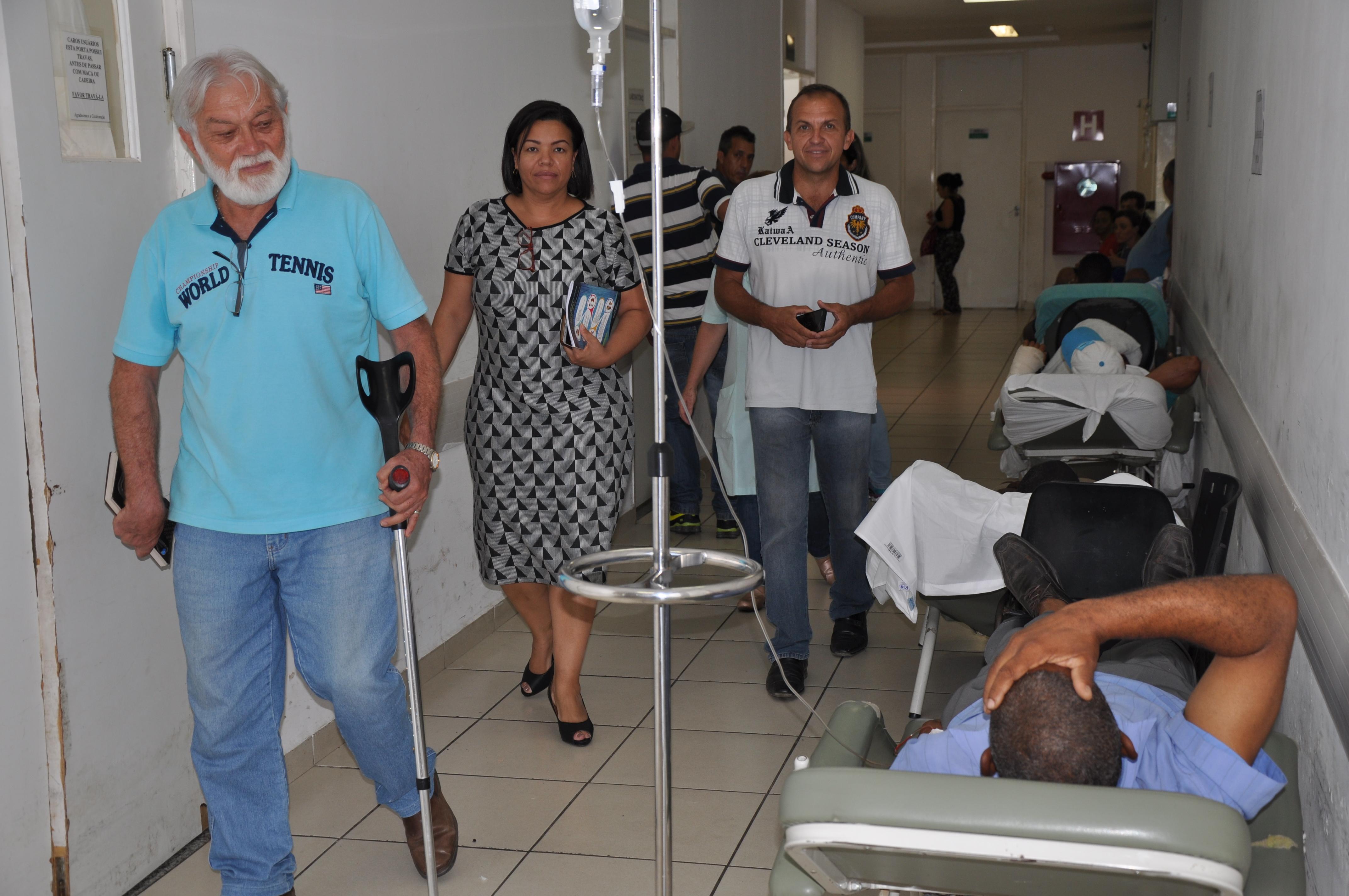 CPI da UPA - Vereadores visitam unidade de saúde