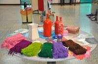 Espaço GTO expõe criatividade feminina em artesanato
