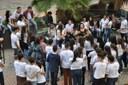 """Estudantes participam de encerramento do """"Memorial das Senzalas para a Periferia"""""""
