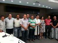 Gabinetes recebem benção do Padre Chrystian Shankar