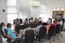 Mesa Diretora faz reunião administrativa com Vereadores