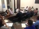 Reunião com Secretário Municipal de Saúde