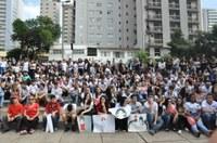 Vereadores participam da 10ª Caminhada Todos Contra Pedofilia