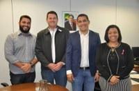 Vereadores se reúnem com Secretário de Desenvolvimento Econômico Ciências e Tecnologia de Minas Gerais