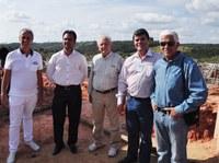 Visita técnica na ETE e nas obras do Pró-Transporte