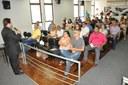 Workshop de Práticas Legislativas reúne vereadores, servidores e cidadãos no plenário da Câmara