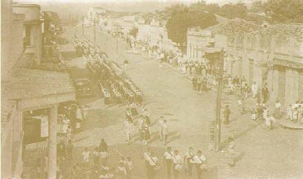 Desfile Cívico-Militar - 1955