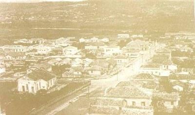 Vista Parcial de Divinópolis - 1947