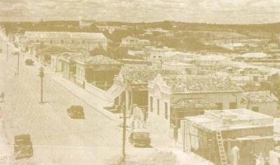 Longo trecho Av. 1º de Junho - 1952