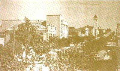 Pequeno trecho da Rua São Paulo - 1950