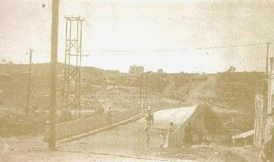 1º Viaduto do Bairro Porto Velho - 1948